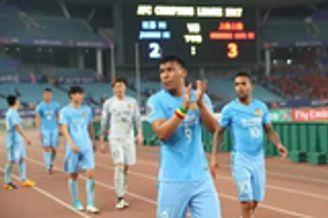 苏宁连战客场体能不敌上港 亚冠出局将专注联赛