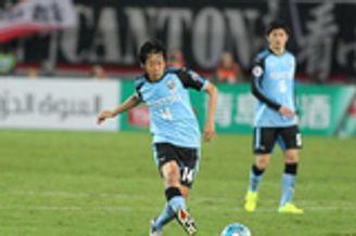 川崎中场核心缺席对韩战 和上港比赛中受伤