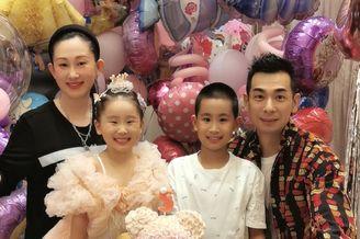 趙文卓夫婦為小女兒慶5歲生日