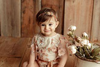 摄影师眼中的1岁婴儿有多美