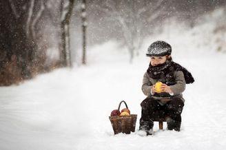 温暖的童年时光