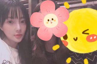 李小璐带女儿参加朋友聚会