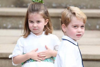乔治小王子第四次做花童
