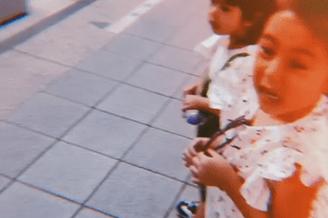 修杰楷分享带女儿坐地铁