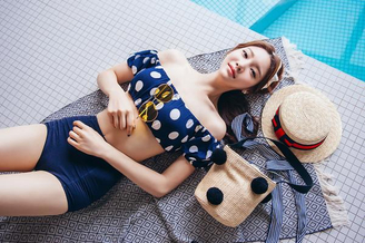 韩国国宝级名模凹凸身材