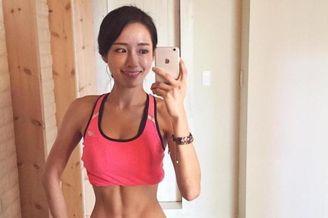 韩国普拉提教师成健身女神