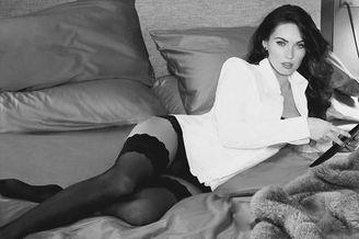 冷艳超模Megan Fox