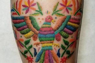 刺绣纹身看起来比听起来更酷