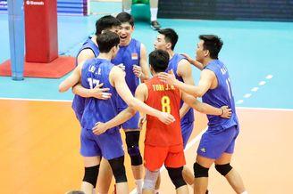 男排亚锦赛复赛中国0-3伊朗