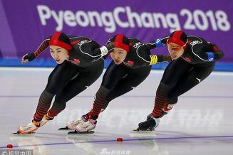 速滑女子团体追逐中国队出战