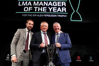 英格兰足联赛教练协会颁奖仪式
