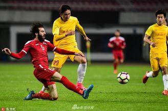 中国U21选拔队0-1叙利亚U23