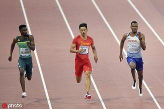 世锦赛200米谢震业轻松晋级