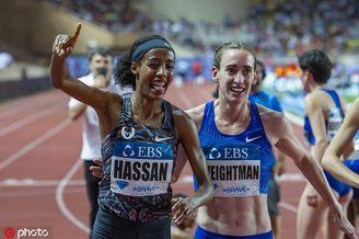 哈桑打破女子一英里世界纪录