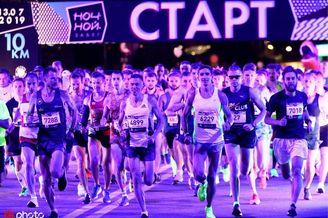 2019莫斯科10KM夜跑赛况