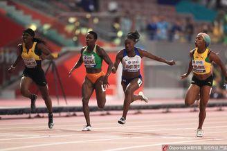 世锦赛女子100米弗雷泽夺冠