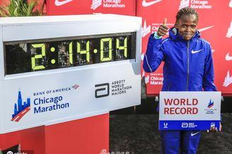 女子马拉松尘封16年纪录被破