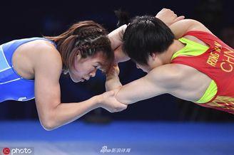 摔跤世锦赛荣宁宁获亚军