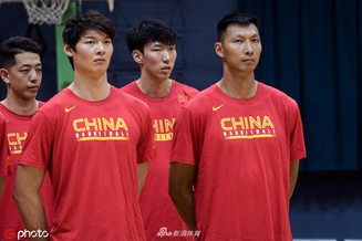 中国男篮开启世界杯集训营