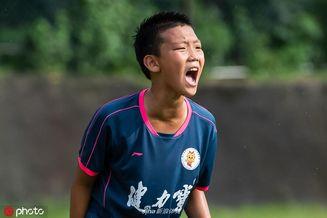 郑智爱子出战U12少年比赛