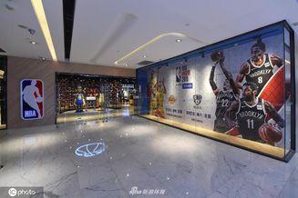 北京NBA旗舰店人气冷清
