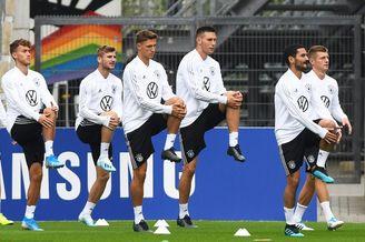 德国国家队训练备战