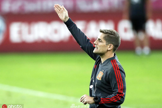 西班牙国家足球队备战训练