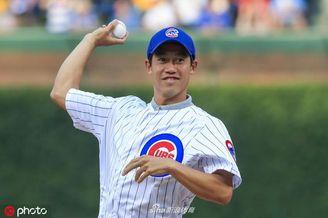 锦织圭亮相MLB比赛