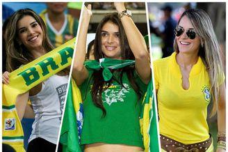 巴西美女球迷大盘点