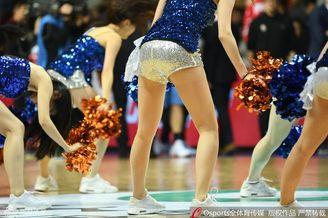 上海篮球宝贝热舞展露大长腿
