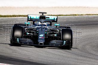 图集-F1巴塞罗那试车首日