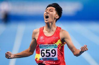 二青会谢智宇获男子400米冠军