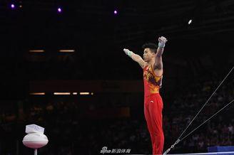 体操世锦赛林超攀单杠第六