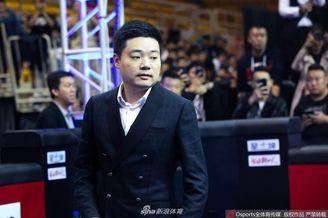 中式台球赛丁俊晖出席开幕式
