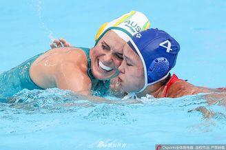 中国女子水球12-14澳大利亚