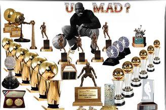 NBA硬荣誉最多的十大巨星
