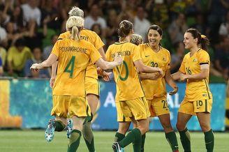 中国女足0-3澳大利亚