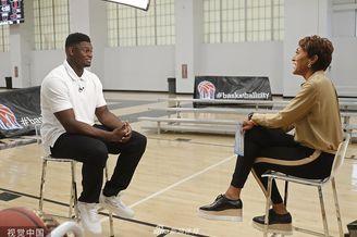 NBA超级新秀威廉姆斯接受专访