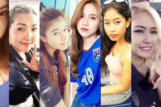 泰国女球迷百艳图!不美算我输