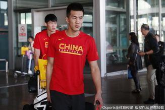 中国男篮蓝队回京