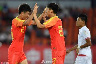 [热身]中国U21男足1-0缅甸U21