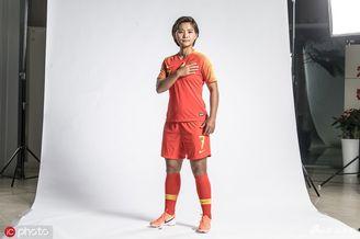 女足拍摄世界杯写真花絮