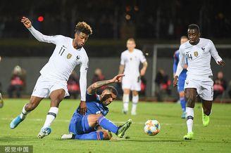 [欧预赛]冰岛0-1法国