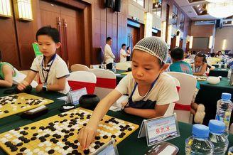 高清-明月山杯少儿围棋赛举行
