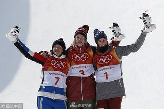 女子U型池加拿大选手夺冠