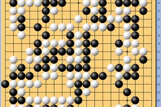 棋谱-棋圣战八强赛