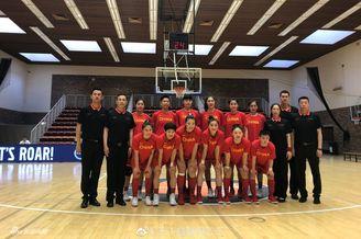 中国女篮胜加拿大精彩瞬间