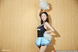 北京巅峰啦啦队甜美写真