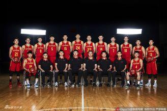 中国国青男篮官方写真