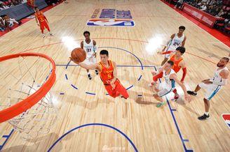 NBA夏季联赛:中国84-80黄蜂
